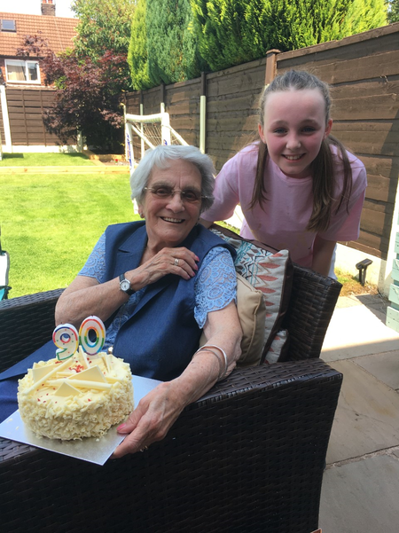 Isabel's Granny celebrates her 90th Birthday!