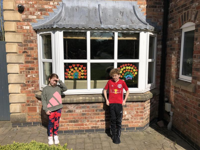 Freya and Finley's rainbows