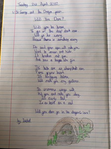 Isabel's poem-Please read!