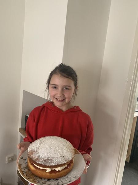 Yummy Cake Baking!