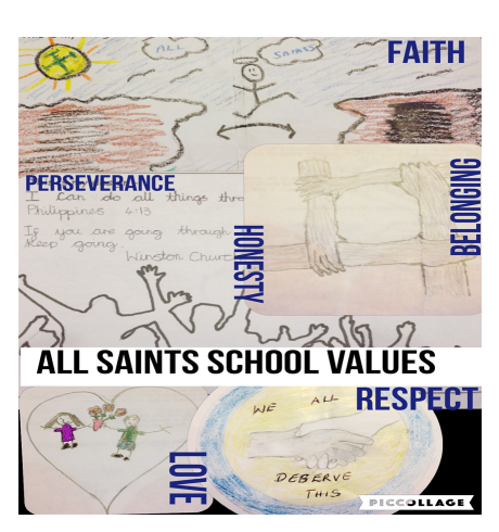 Designed by our All Saints children and families
