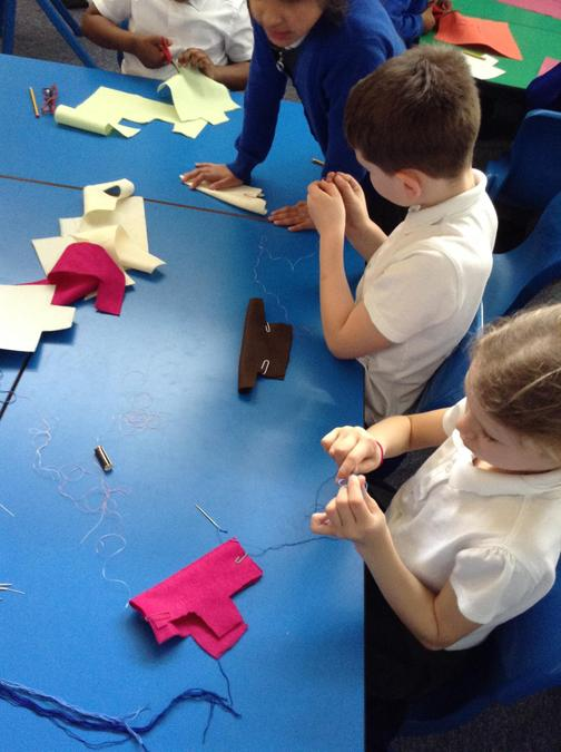 Making jackets for Artic explorers