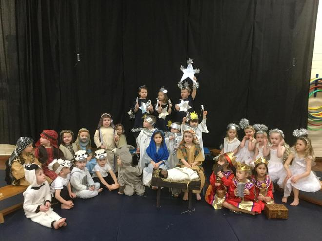 Our Nativity performance