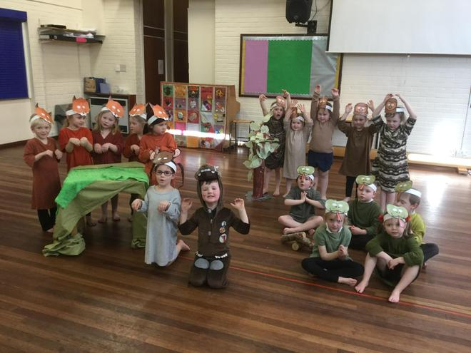 Our dance performance of The Gruffalo