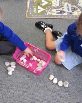 Counting with pebbles