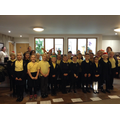 Choir visit to the Laurels
