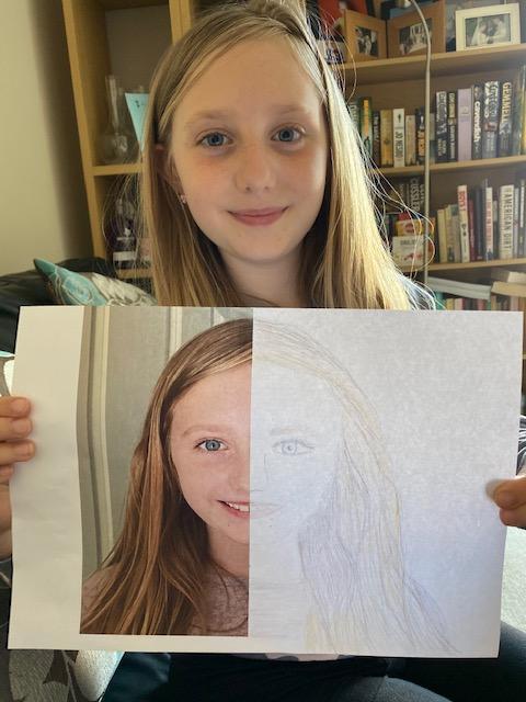 Symmetry portrait