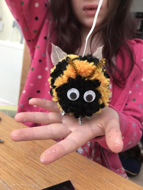 Meet Billy Bob the Bumblebee!