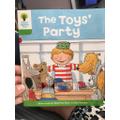 Lottie's new reading book