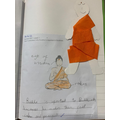 KS1 wrote why Buddha is important to Buddhist