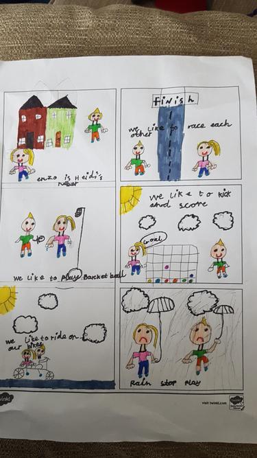 Heidi's comic