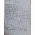 Jinal's Writing - An Ancient Myth