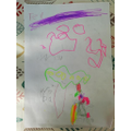 Ted's picture of Willy Wonka