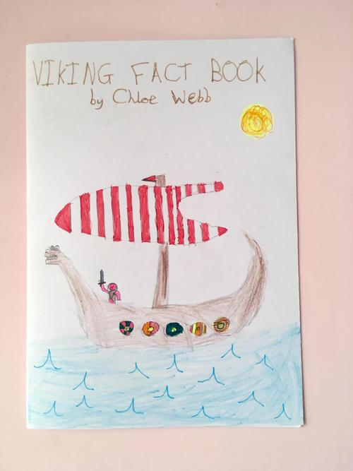 Chloe's amazing Viking fact book