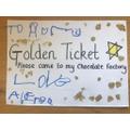 Alfred's Golden ticket!