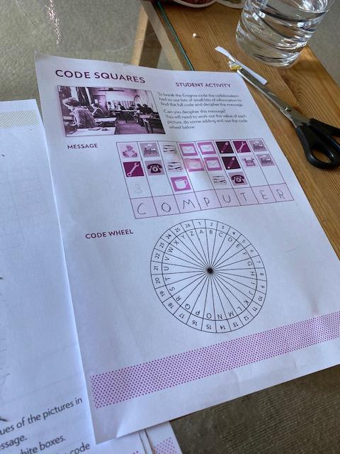 Erin's code squares