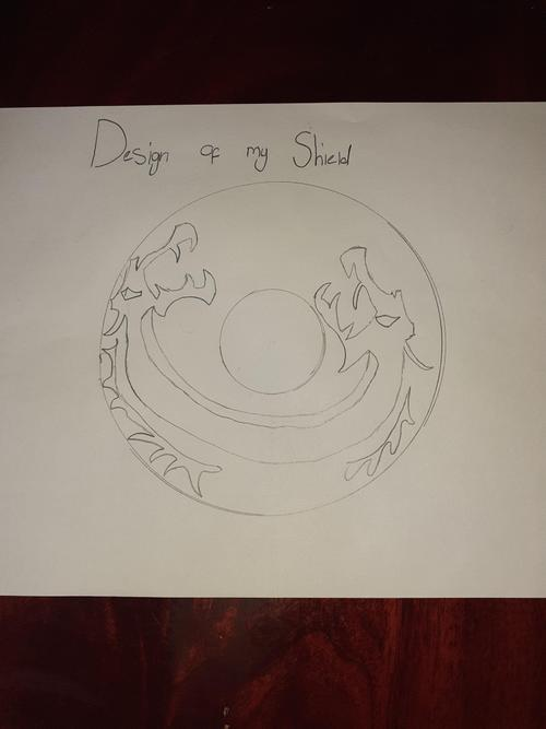 Izzy's shield design