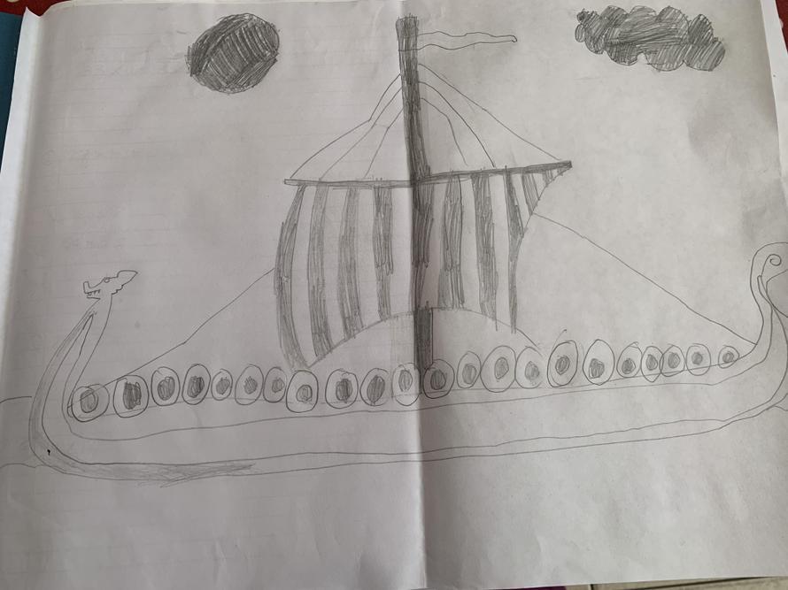 George's Longship sketch