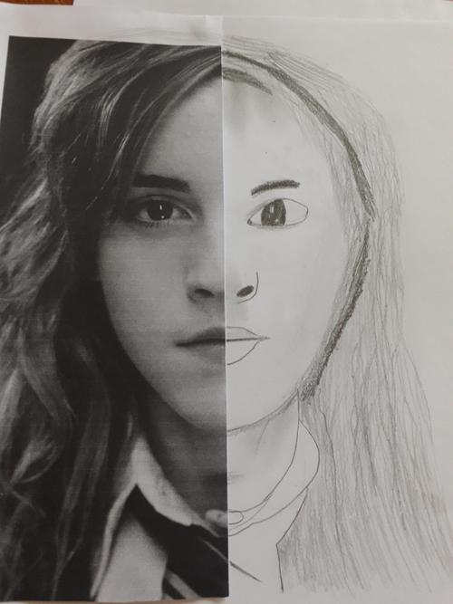 Juliet's Hermione portrait