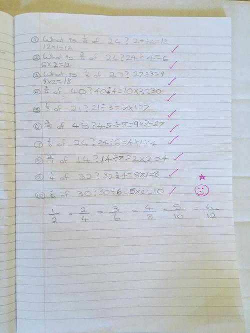 Chloe's fabulous fractions