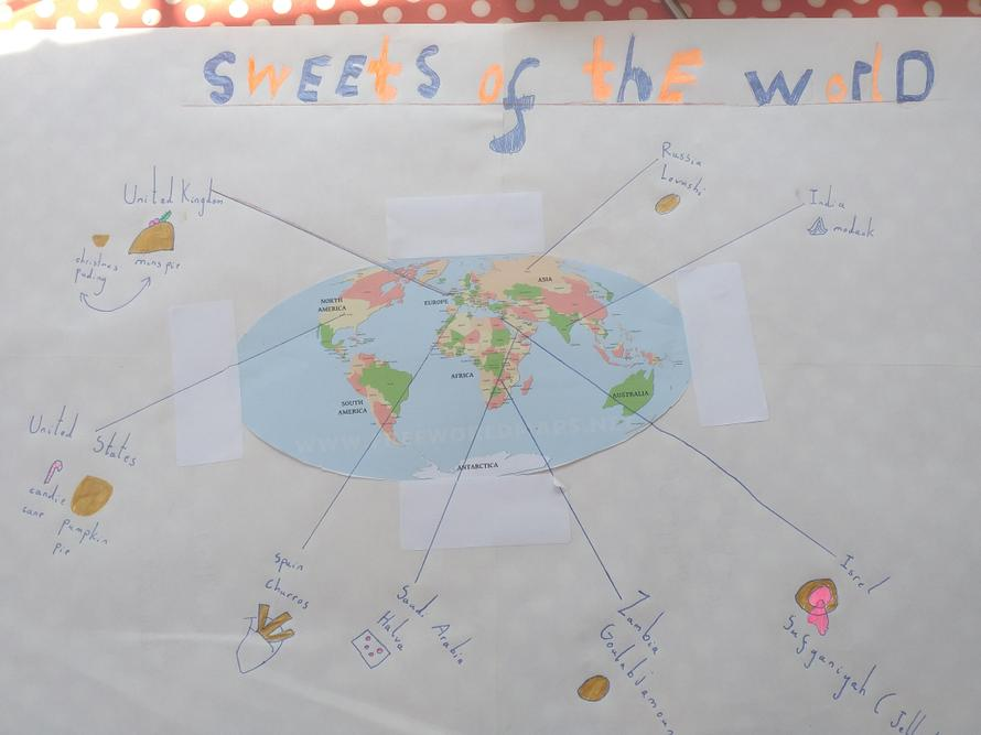 Zoe's sweets from around the world