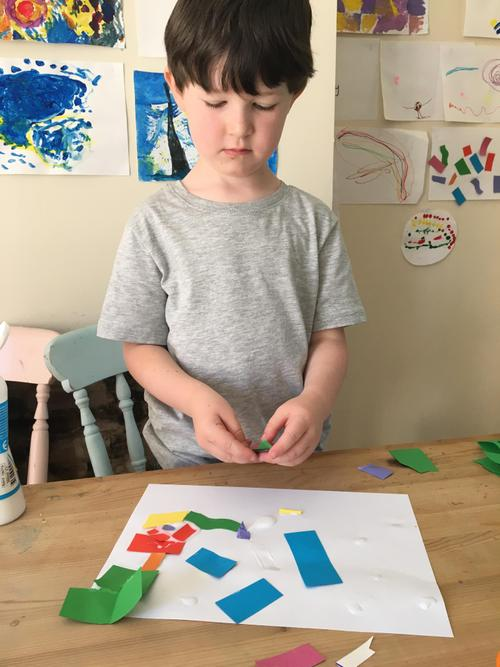 Inspired by Henri Matisse.