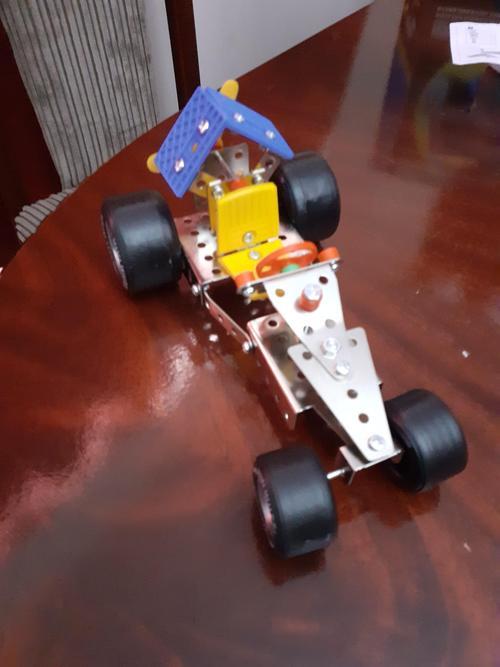 Izzy's 92 piece car
