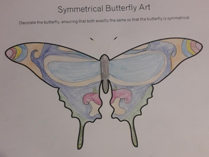 Juliet's butterfly symmetry