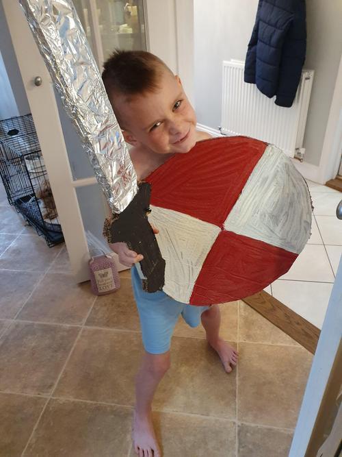Viking ready for battle!