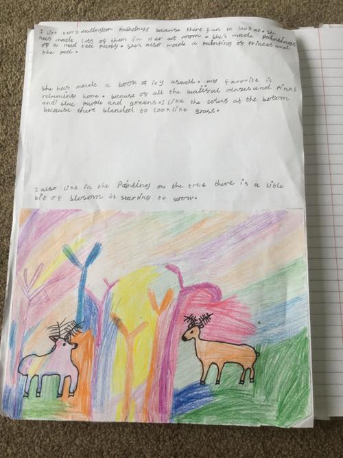 Heidi's favourite artist Kerry Darlington