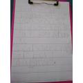 Chloe's writing challenge