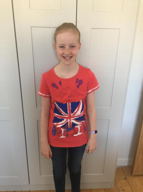A Brilliant Britain T-shirt design