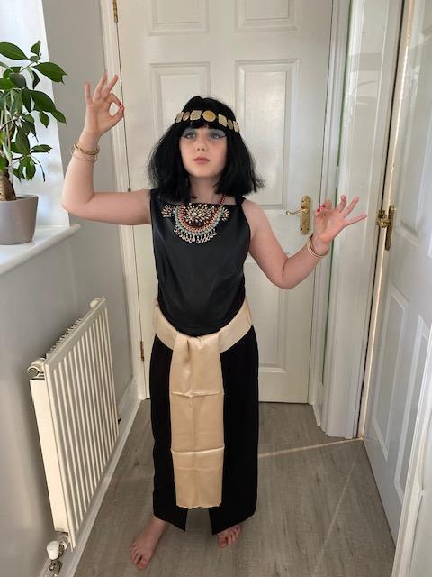 Cleopatra museum exhibit