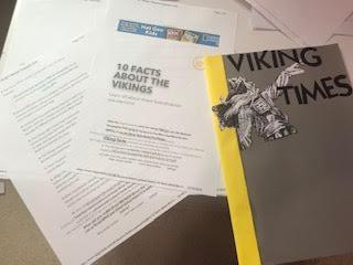 Kayleigh's Viking magazine