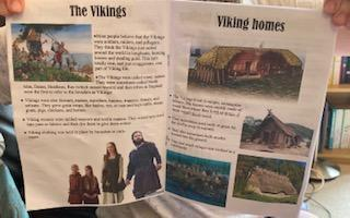 More of Erin's Viking fact book