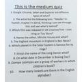 Tallulah's Quiz 02