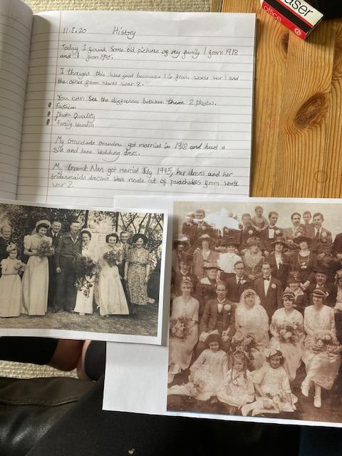 Erin's family history