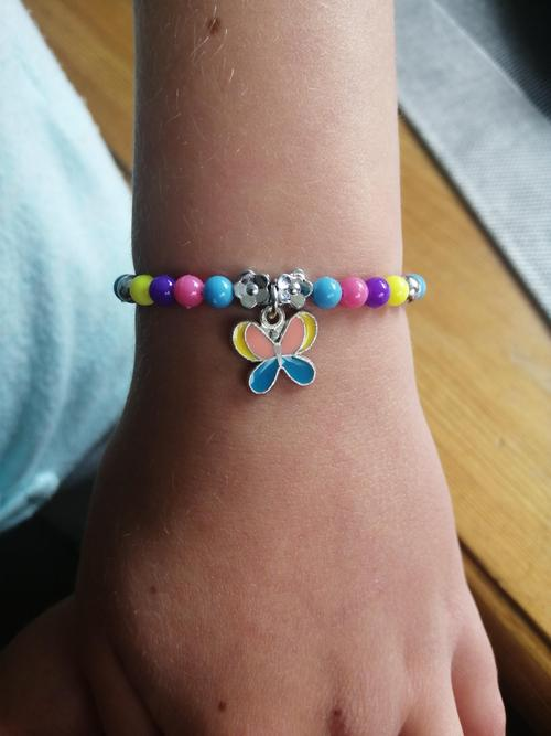 Emily's butterfly bracelet