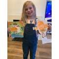 Isla's inspired by reading