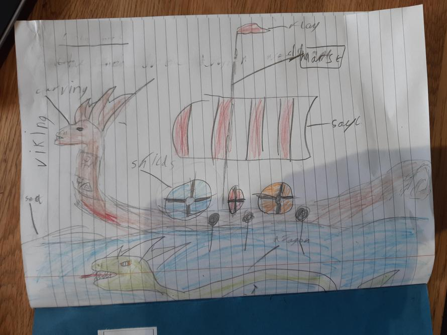 Louie's amazing longship