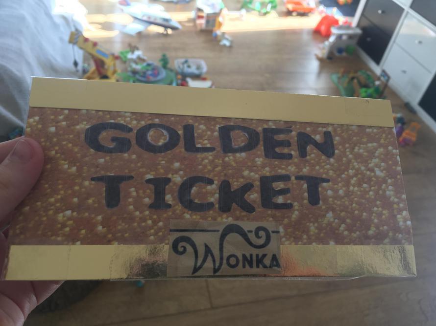 Abi's Golden Ticket