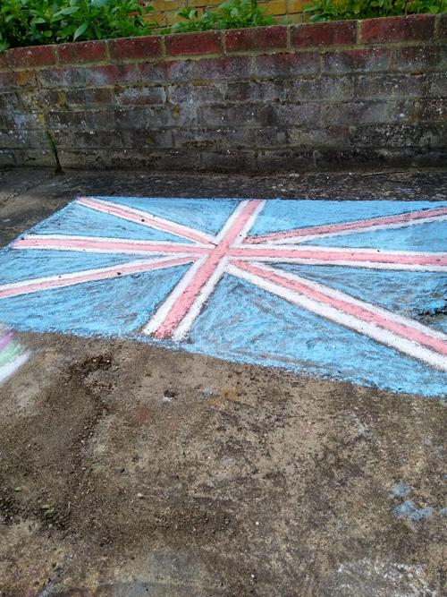 Learning about the Union Jack.