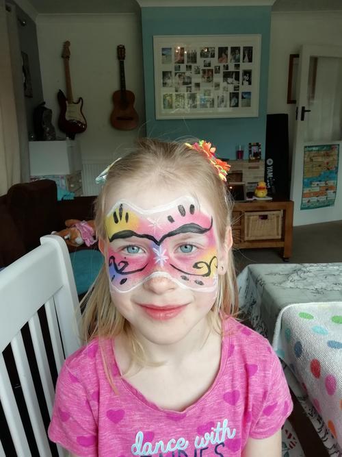Face painting fun!