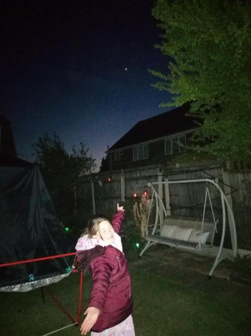 Watching the satellites