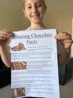 Read and enjoy the chocolate facts