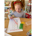 Taking away with numicon