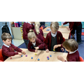We loved the spinning tops