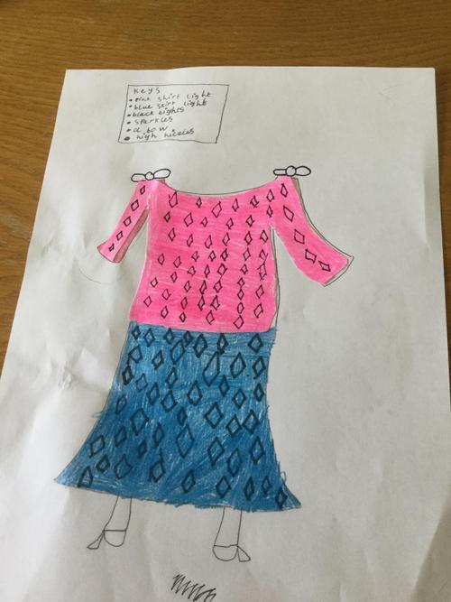Heidi's new clothes design