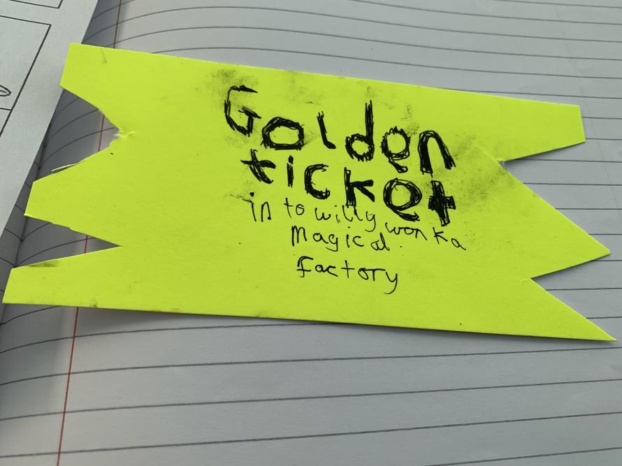 Mason's Golden Ticket