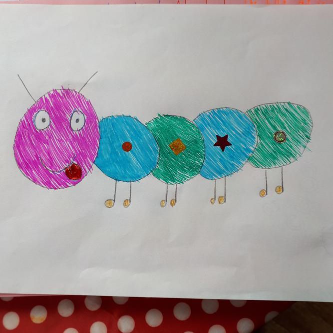 Zoe's caterpillar